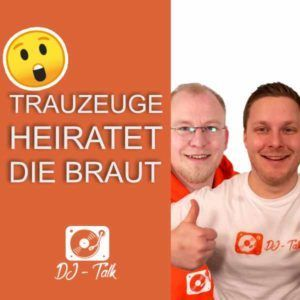 Trauzeuge heiratet die Braut